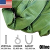 Olive Endless Round Slings