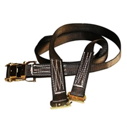"2"" E-Track Ratchet Tie Down Straps"