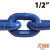 "GRADE 100 Lifting Chain 9/32"" x 10FT"