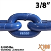 "3/8"" X100 Grade 100 Lifting Chain"