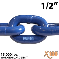 "1/2"" X100 Grade 100 Lifting Chain"
