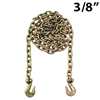 "3/8"" Grade 70 Transport Binder Chain with Grab Hooks"