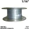 "1/16"" 7x7 Galvanized Aircraft Cable"