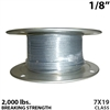 "1/8"" 7x19 Galvanized Aircraft Cable"
