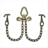 GRADE 70 2' Leg V Chain with Hammerhead Hooks, Grab Hooks, and Pear Link