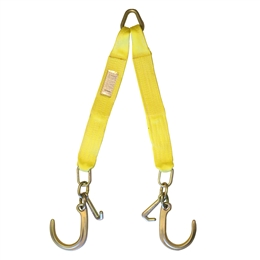 Nylon V Bridle with J Hooks & Mini J Hooks 8""
