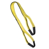 "1"" X 2' 2 Ply Advant-Edge Polyester Flat Eye and Eye Sling & Protective Eye Sleeves"