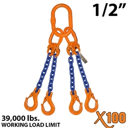Chain Sling GRADE 100 Style QOS 1/2""