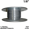 "1/8"" 7X7 Stainless Steel Aircraft Cable"