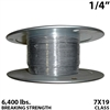 "1/4"" 7x19 Stainless Steel Aircraft Cable"