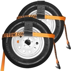 Two Tow Dolly Basket Straps