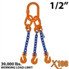 "1/2"" X100 TOG Grade 100 Chain Sling"