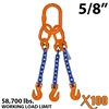 "5/8"" X100 TOG Grade 100 Chain Sling"