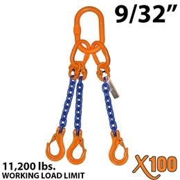 "9/32"" X100 TOS Grade 100 Chain Sling"