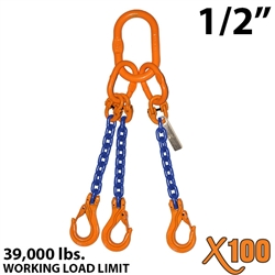 "1/2"" X100 TOS Grade 100 Chain Sling"