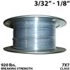 "3/32"" - 1/8"" 7X7 Vinyl Coated Aircraft Cable"