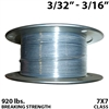 "3/32"" - 3/16"" 7X7 Vinyl Coated Aircraft Cable"