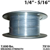 "1/4"" - 5/16"" 7X19 Vinyl Coated Aircraft Cable"