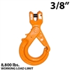 "3/8"" X100 Grade 100 Clevis Self Locking Hook"