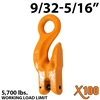"9/32""-5/16"" X100 Grade 100 Eye Grab Adjuster Hook"