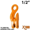 "1/2"" X100 Grade 100 Eye Grab Adjuster Hook"