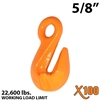 "5/8"" X100 Grade 100 Eye Grab Hook"