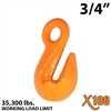 "3/4"" X100 Grade 100 Eye Grab Hook"