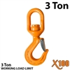 X100 Alloy Swivel Hoist Hook with Bearing