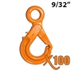 9/32 - 5/16 GRADE 100 Eye Self Locking Hook X100 BRAND