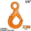 "3/8"" X100 Grade 100 Eye Self Locking Hook"
