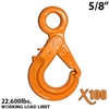 "5/8"" X100 Grade 100 Eye Self Locking Hook"