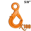 "5/8"" GRADE 100 Eye Self Locking Hook X100 BRAND"