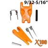 "Forged Latch Kit for 9/32""-5/16"" Grade 100 Sling Hook"