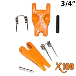 "Cast Latch Kit for 3/4"" Grade 100 Sling Hook"