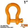 "1"" Alloy Screw Pin Anchor Shackle"