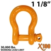 "1-1/8"" X100 Alloy Screw Pin Anchor Shackle"