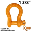 "1-3/8"" X100 Alloy Screw Pin Anchor Shackle"