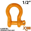 "1/2"" Alloy Screw Pin Anchor Shackle"