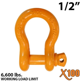 "1/2"" X100 Alloy Screw Pin Anchor Shackle"