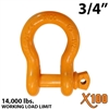"3/4"" Alloy Screw Pin Anchor Shackle"