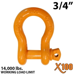 "3/4"" X100 Alloy Screw Pin Anchor Shackle"