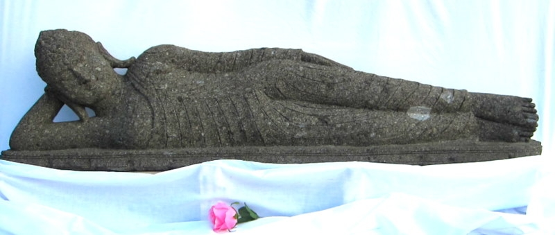5ft Parinirvana Stone Reclining Buddha Sculpture & 5 Foot Long laying RECLINING BUDDHA STATUE Carved STONE Thai ... islam-shia.org
