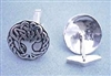 Sterling Silver Celtic Oak Tree Cuff Links