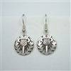 Large Celtic Thistle Earrings