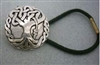Celtic Oak Tree Hair Tie - sterling silver - Zephyrus