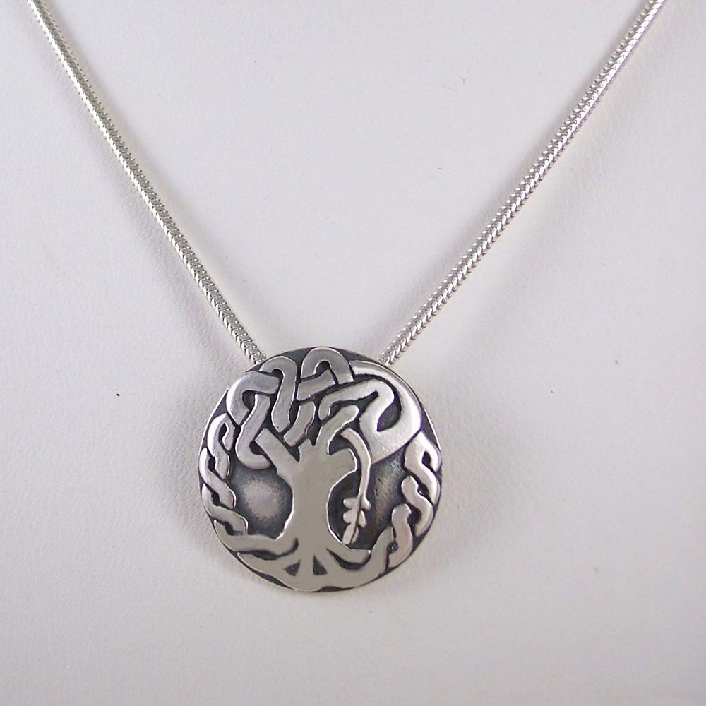 Oak tree necklace medium oak tree necklace aloadofball Choice Image
