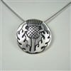 Medium Celtic Thistle Necklace