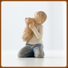WILLOW TREE KINDESS BOY FIGURINE