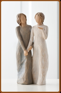 WILLOW TREE MY SISTER FRIEND FIGURINE