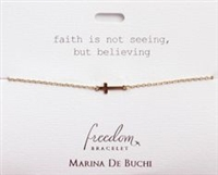Cross Freedom Bracelet